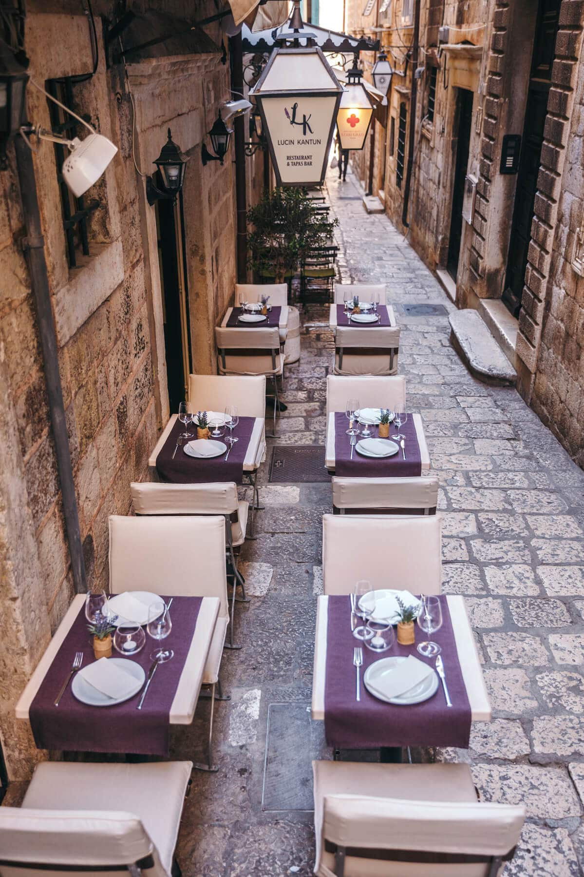 Take a peek into the hidden alley of the Old Town Dubrovnik